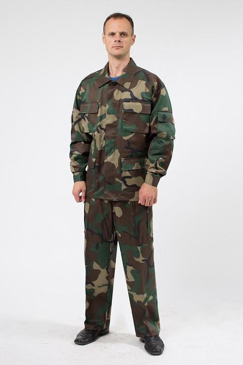 Спецформа камуфлированная в стиле милитари