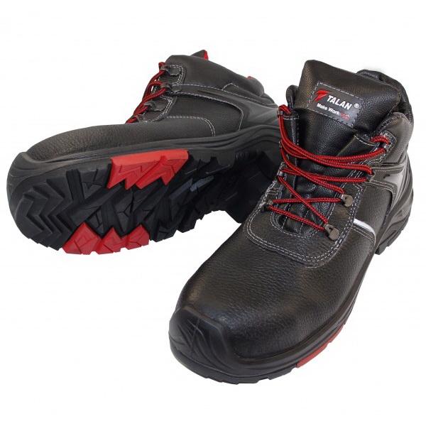 Ботинки сварщика защитные с нитриловой подошвой