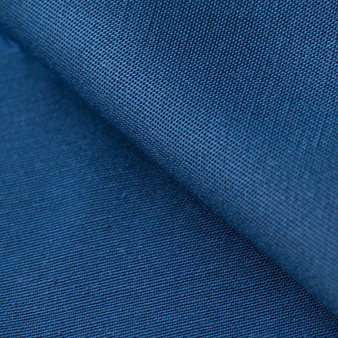 Ткань смесовая синего цвета для спецодежды