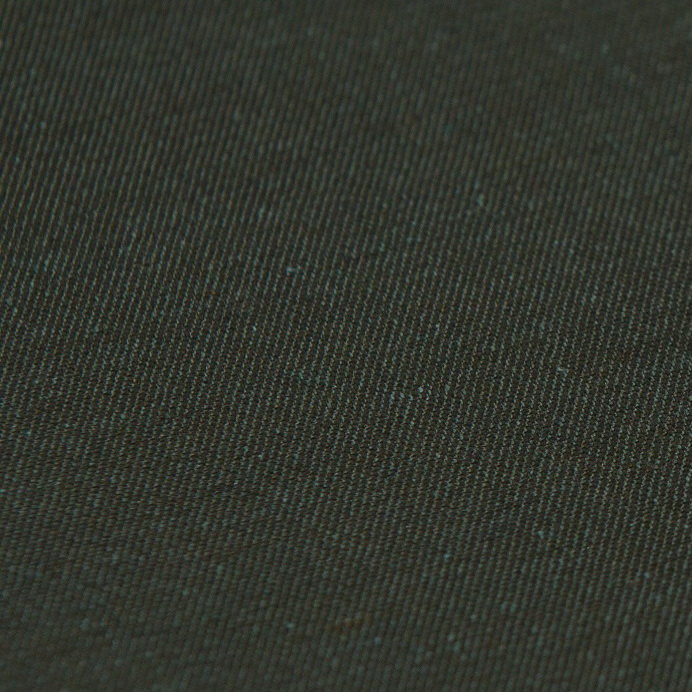 Ткань зеленая для одежды из хлопка