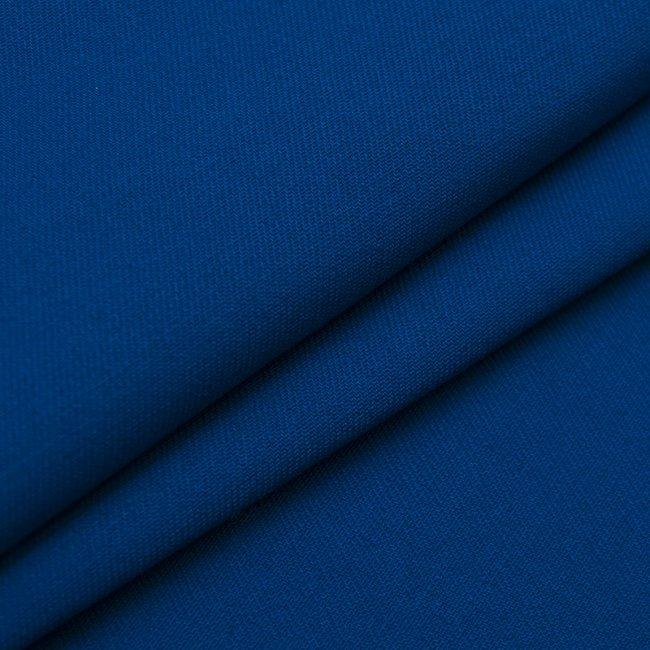 Ткань одёжная Саржа синего цвета
