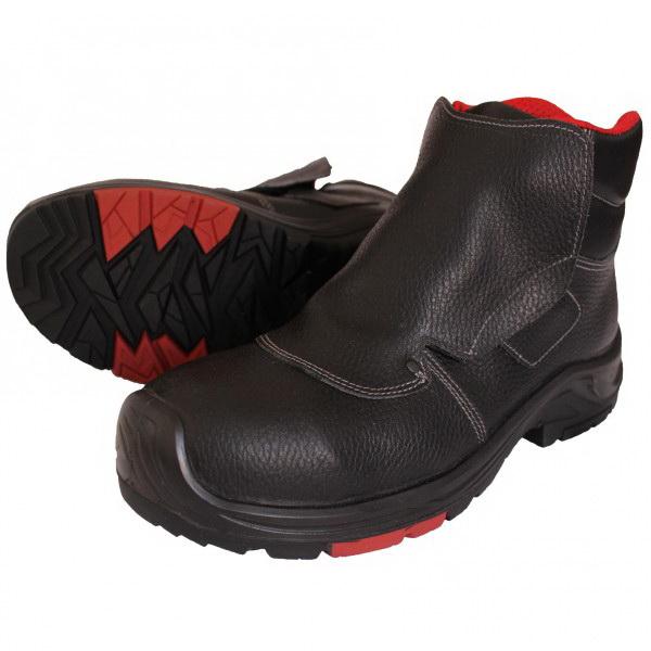 Защитные ботинки Талан для сварочных работ черного цвета