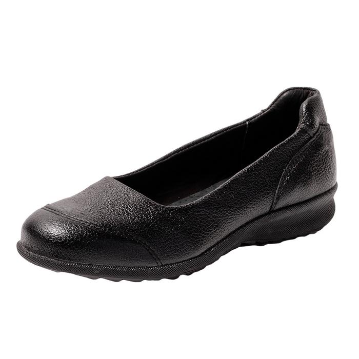 Чёрные женские туфли для работы