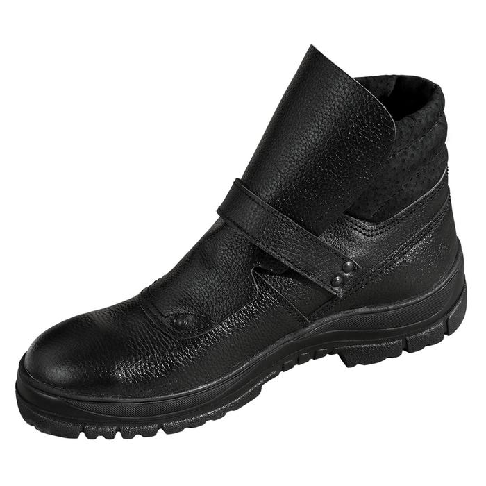 Ботинки для сварочных работ из кожи с защитным подноском