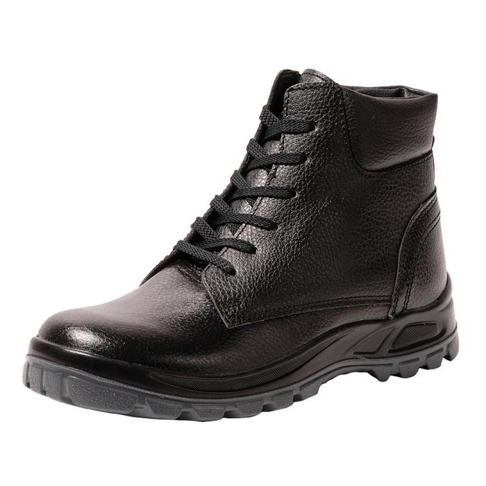 Чёрные ботинки для работы с защитным подноском