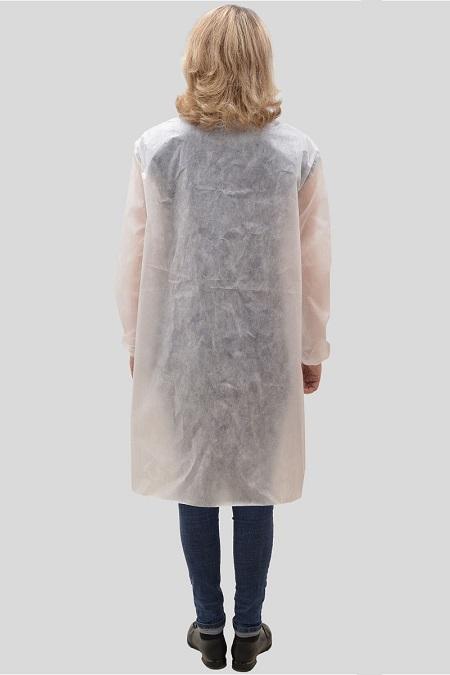 Одноразовый халат из спанбонда