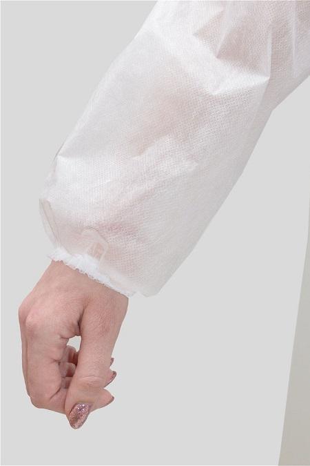 Рукав халата из спанбонда