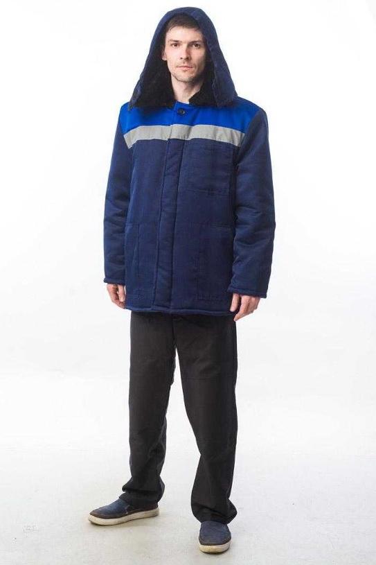 Недорогая куртка для работы с СОП и капюшоном